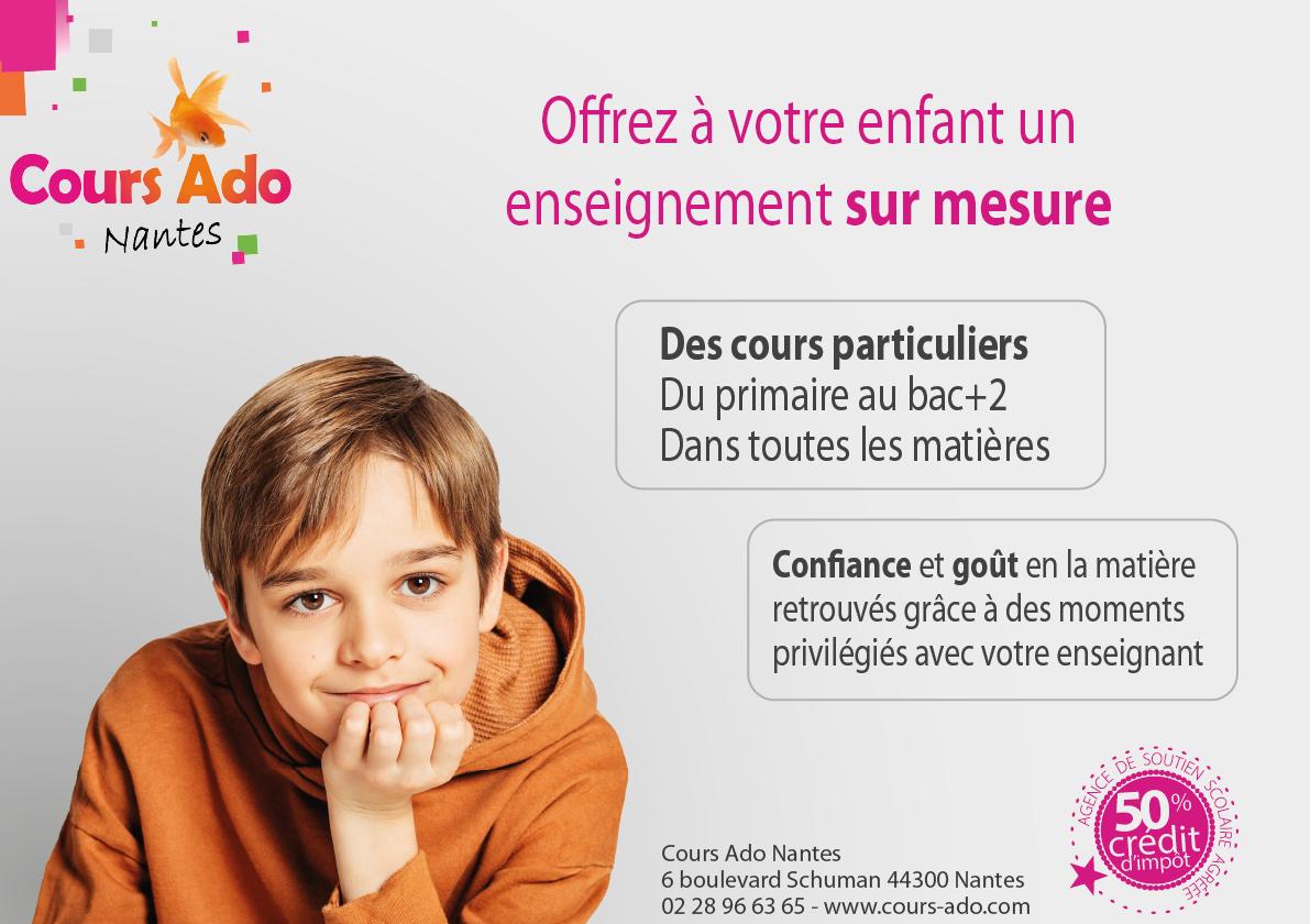 Cours Particuliers adaptés à Nantes